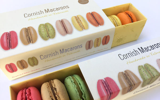 Cornish Macarons