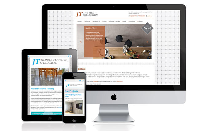 JT Tiling website goes live!