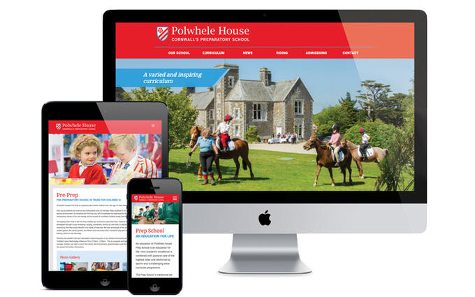 Polwhele House Website