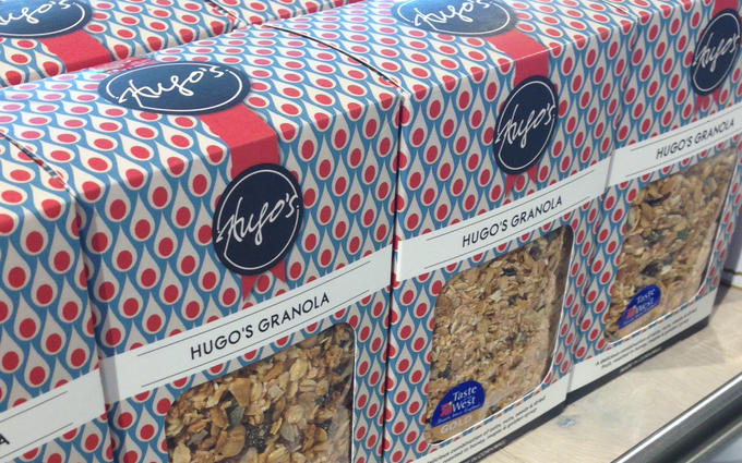 Hugos Muesli in Waitrose